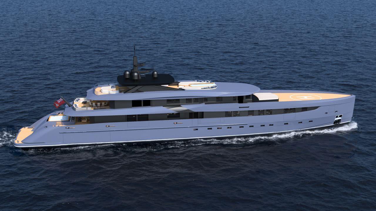F65 Marco Ferrari Yacht Design