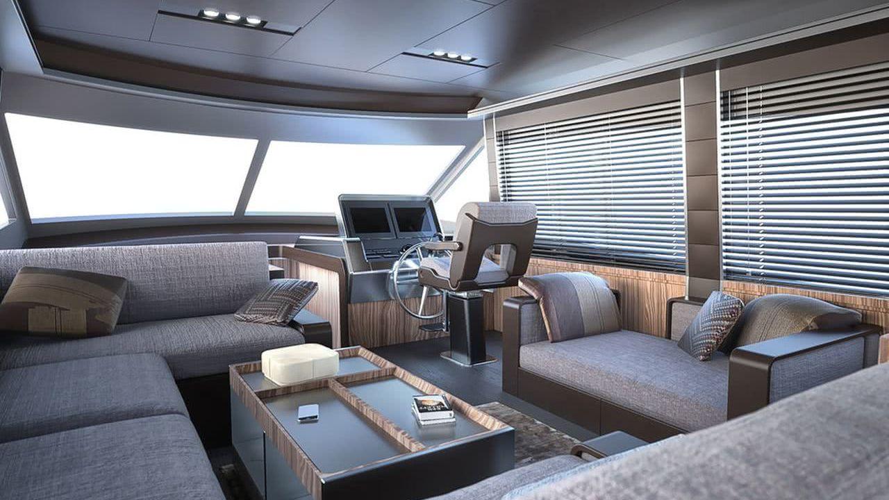 Greenline 65 Hybrid Yacht Interior