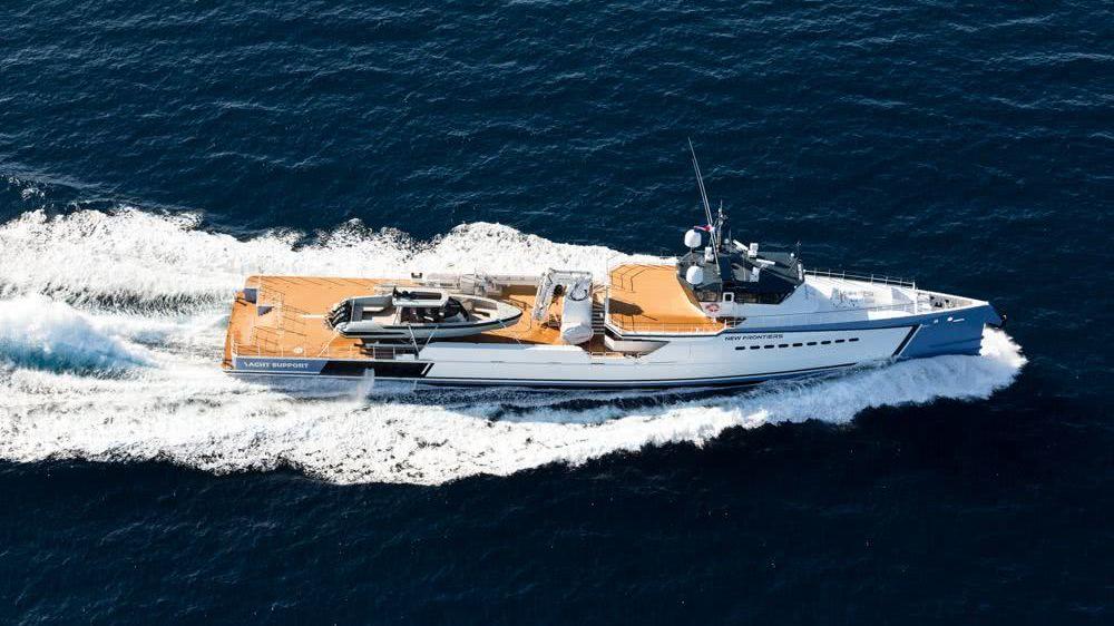 Shadow Damen Yacht Support Vessel