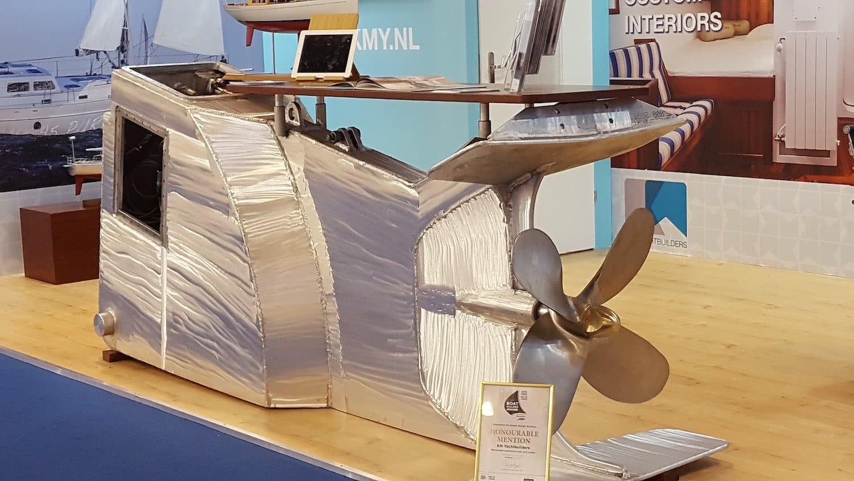 Nanuq KM Yachtbuilders Explorer Sailing Yacht Retractable Propulsion