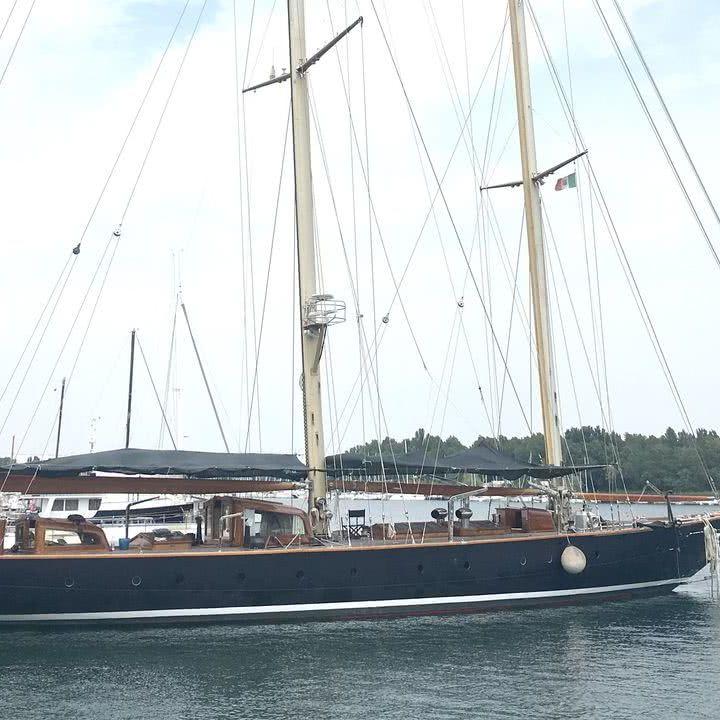 Vagrant Sailing Yacht Nathanael Herreshoff