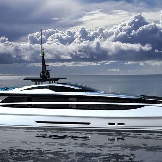 XL 300 Fast Motor Yacht Fedrico Fiorentino Yacht Design