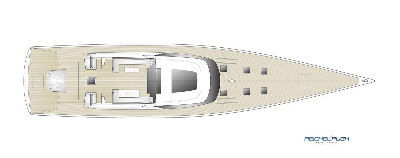 40m Performance Sailing Yacht Reichel Pugh Adam Vorhees