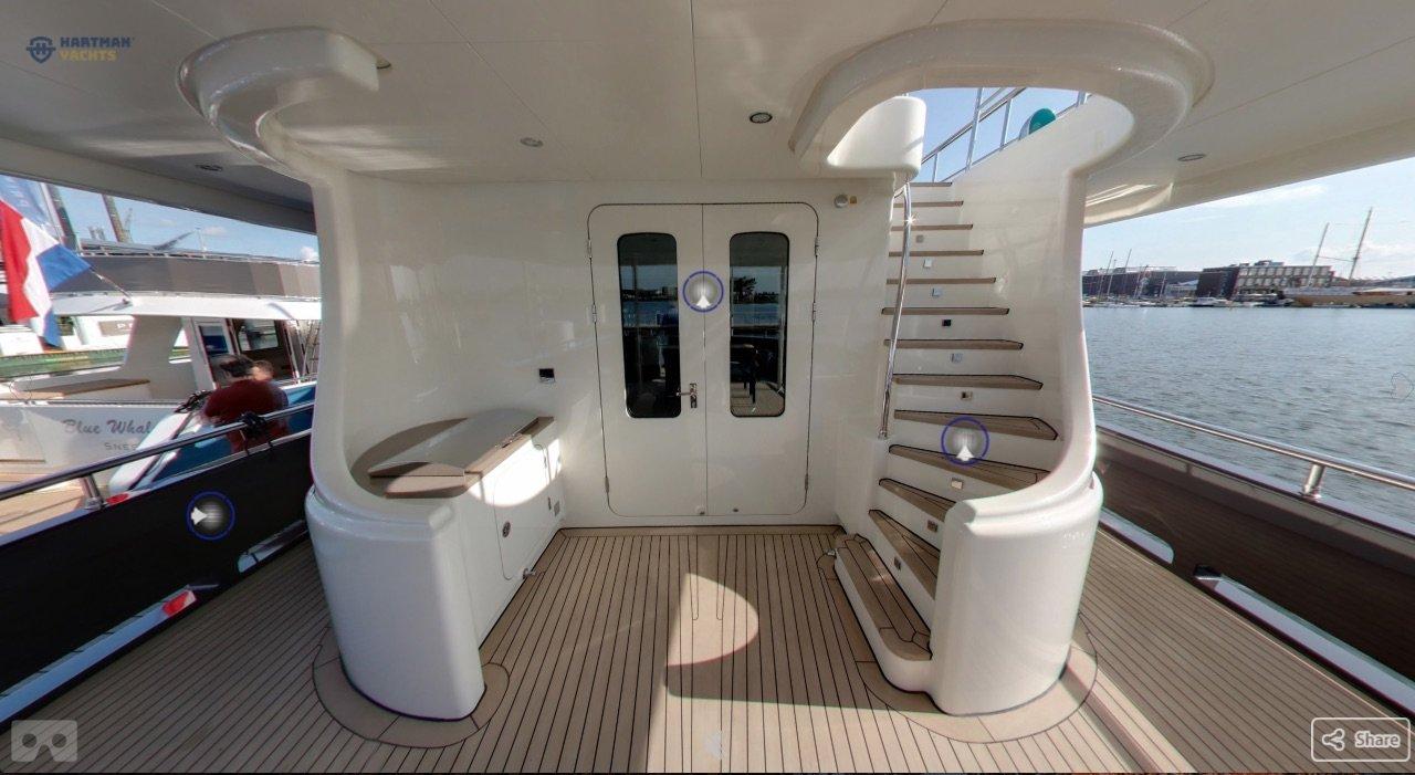 Motor Yacht Livingstone Hartman Yachts Virtual Tour