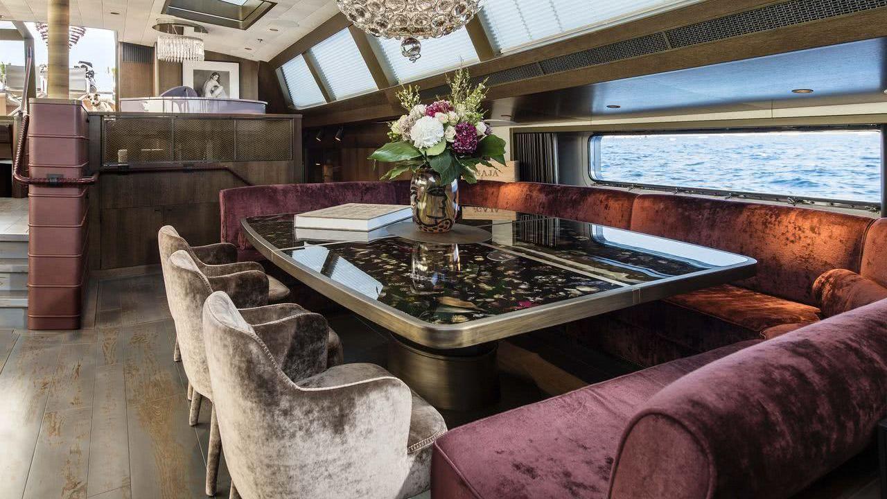 Sailing Yacht Pink Gin VI Interior Design Unlimited