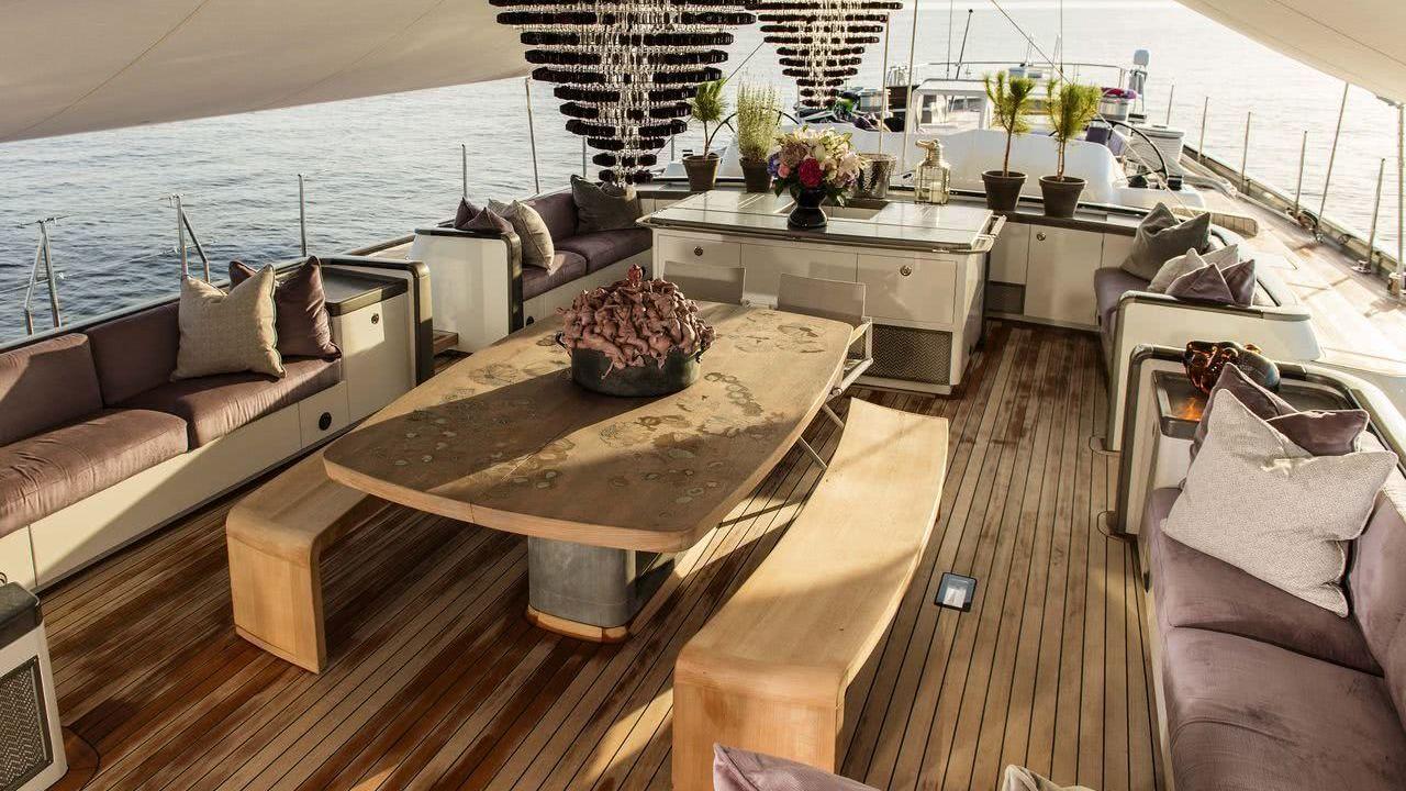 Sailing Yacht Pink Gin VI Interior Baltic Yachts