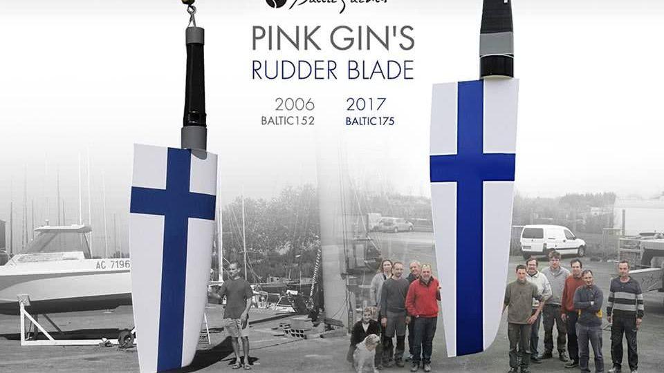 Sailing Yacht Pink Gin VI Baltic Yachts Rudder Blades