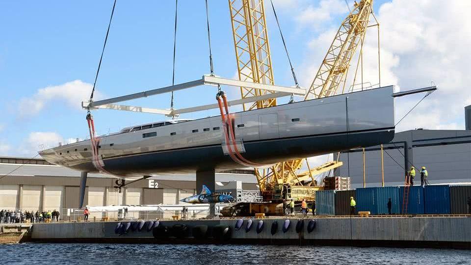 Sailing Yacht Pink Gin VI Baltic Yachts Keel Artwork
