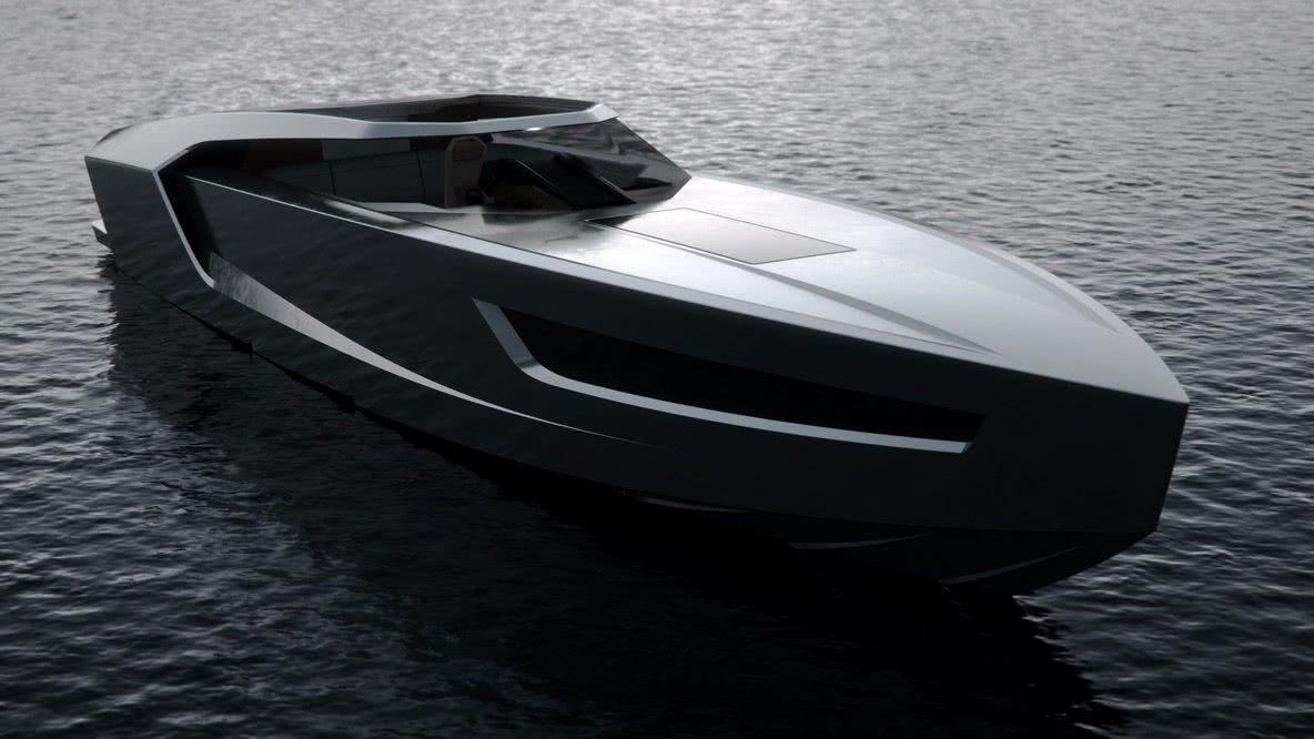 Flying Flipper GT 42 Red Yacht Design