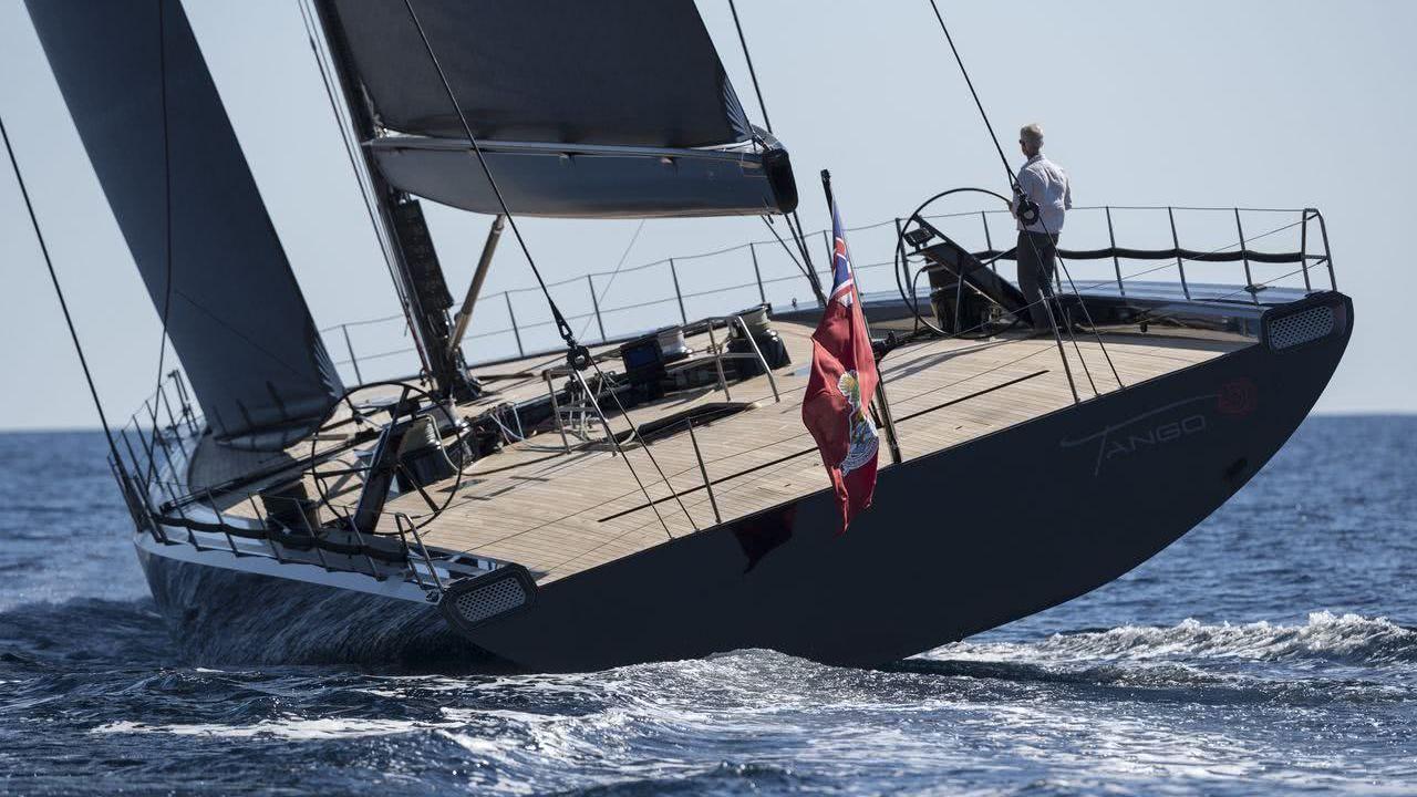 Wally Sailing Yacht Tango Mills Design