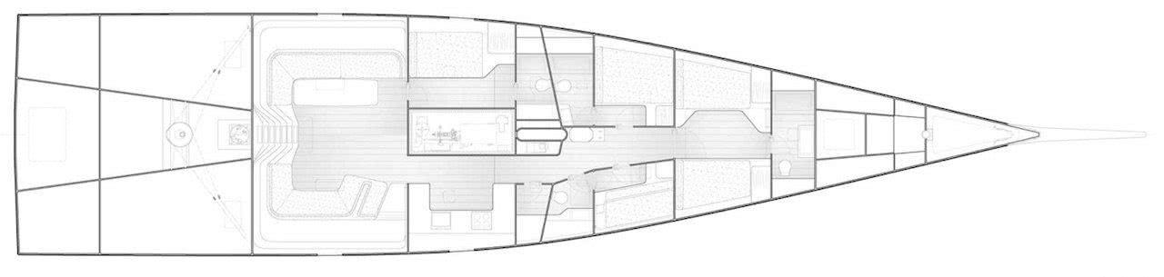 Tango Yacht General Arrangement