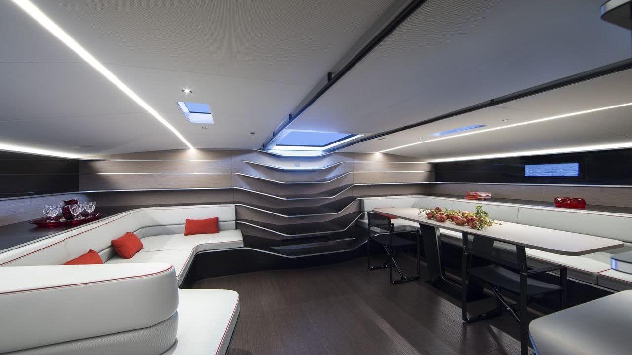 Wally Sailing Yacht Tango Interior Pininfarina