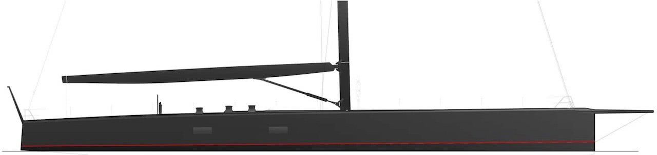 Wally Sailing Yacht Tango Profile