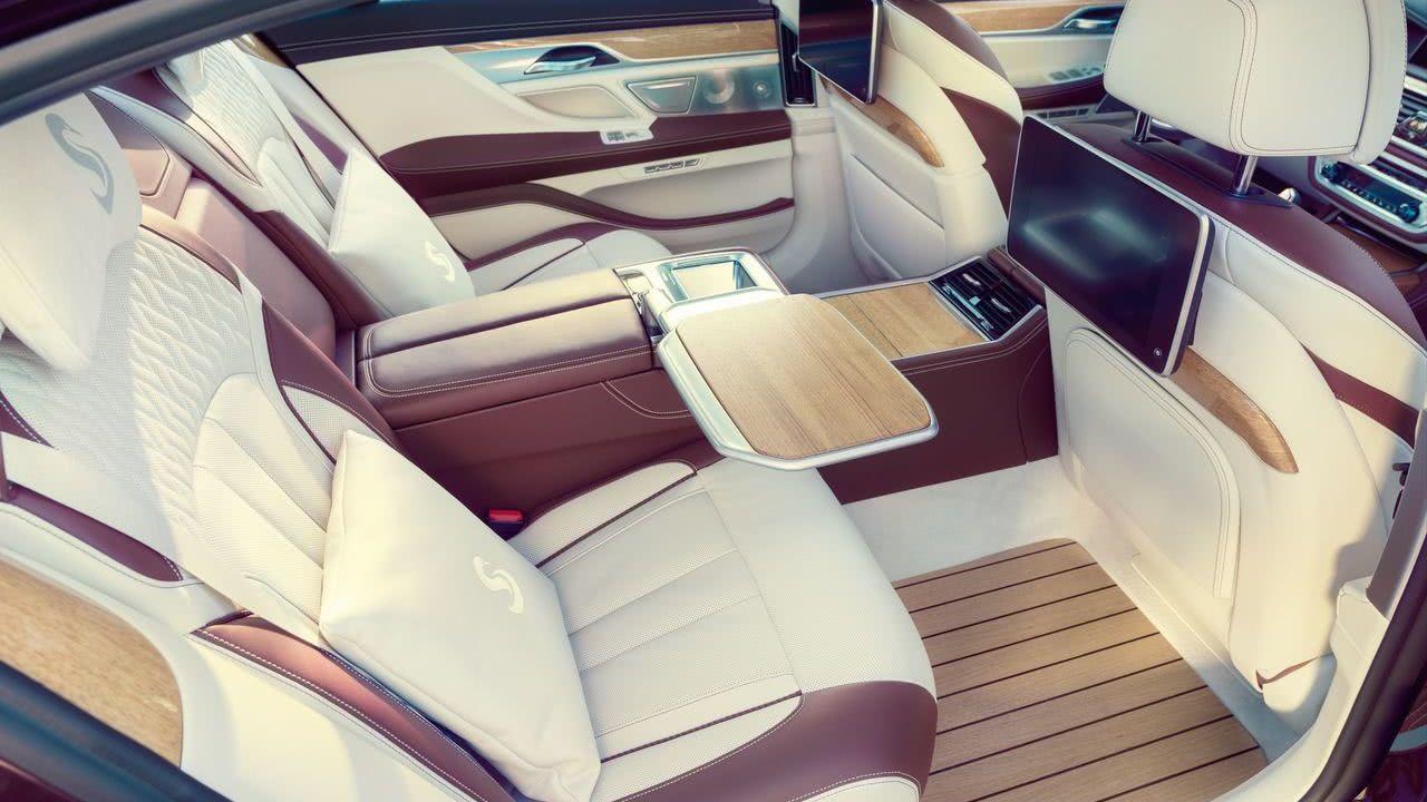 BMW Individual Nautor's Swan Yacht Style