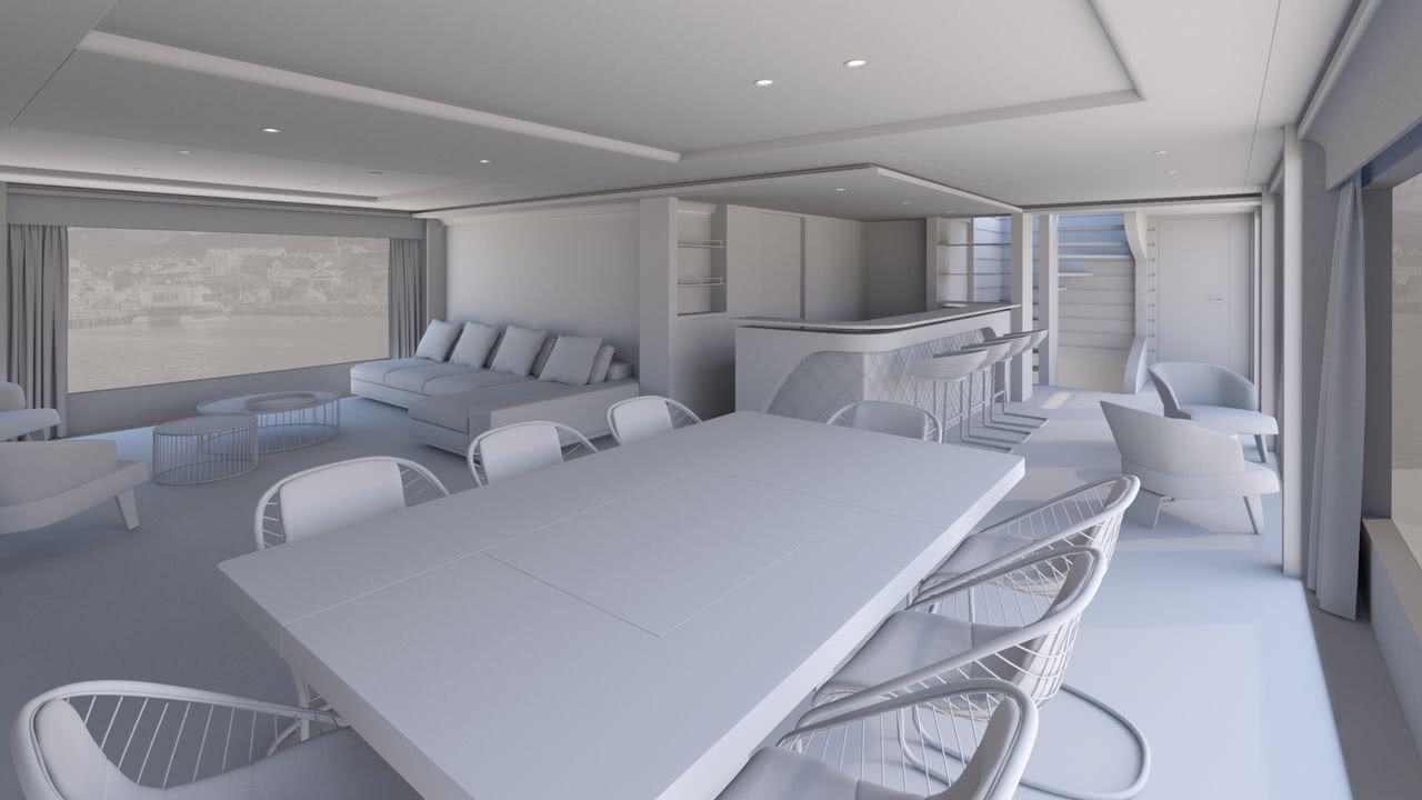 Moonen Navarino Motor Yacht Interior Design