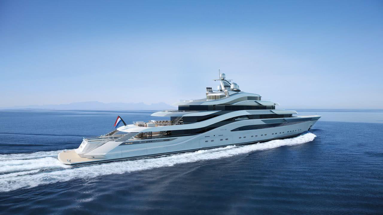 POLLUX Amels H2 Yacht Design