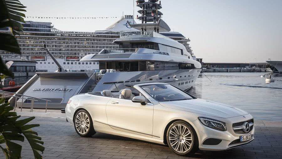 Motor Yacht Silver Fast Mercedes-Benz S-Class Cabriolet