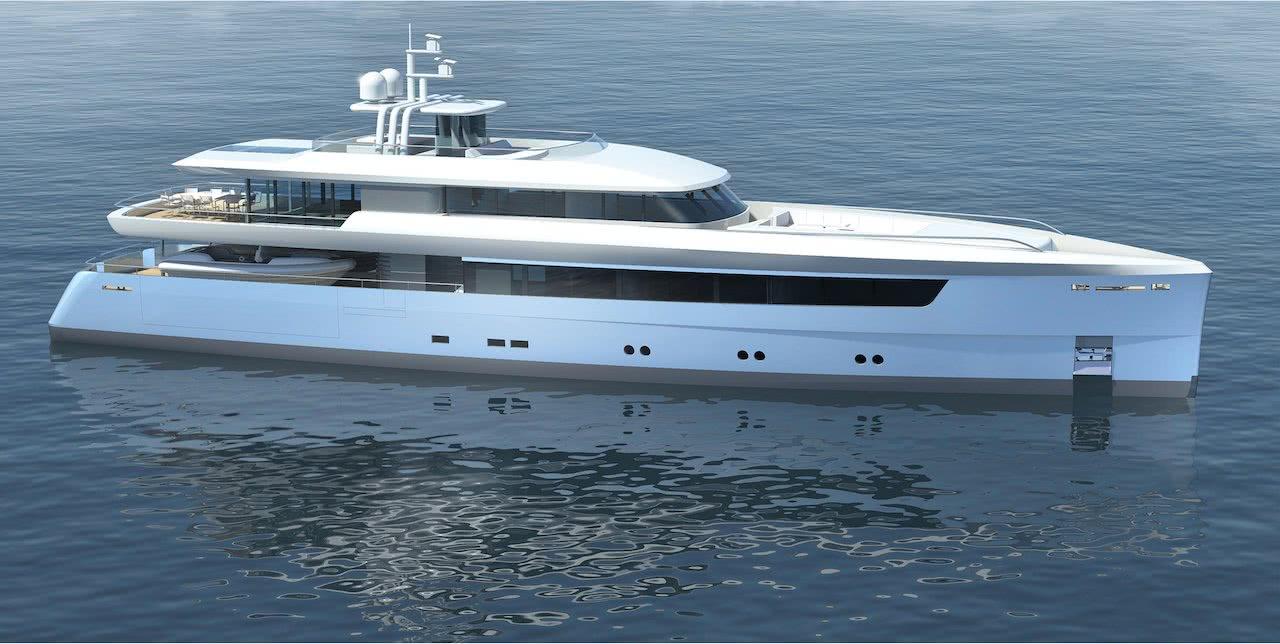 45m Crossover Yacht Vitruvius Yacht