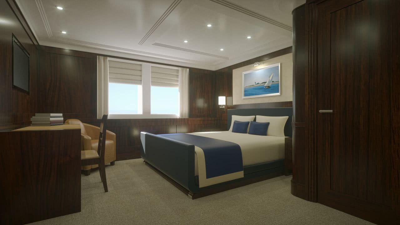 Marlin Classic Motor Yacht Royal Huisman Interior Design