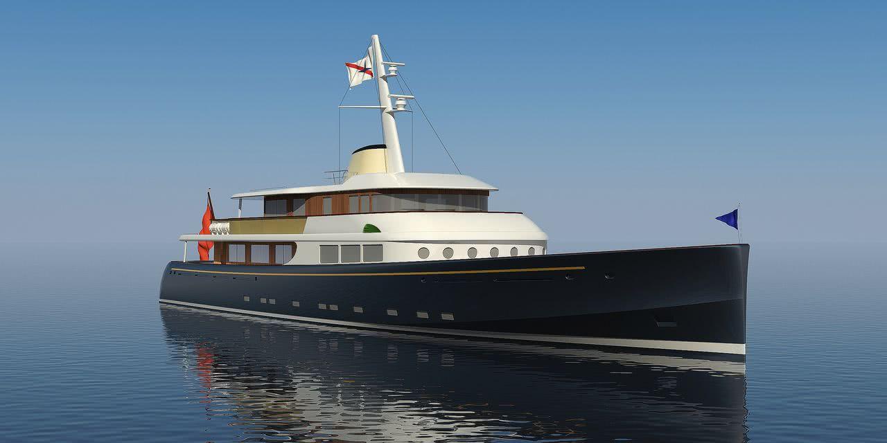 Marlin Classic Motor Yacht Royal Huisman
