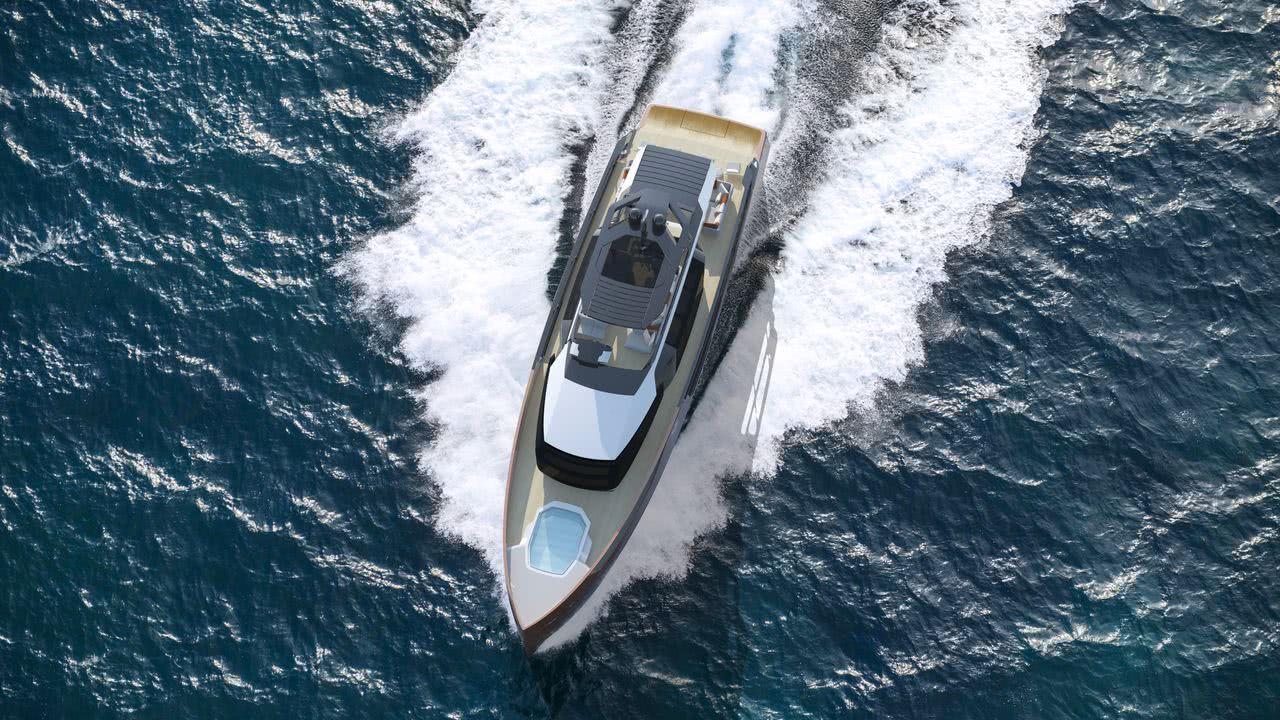 Sarp XSR 85 Red Yacht Design Hybrid Motor Yacht