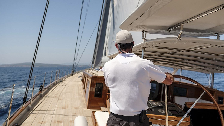Sailing Yacht AQUARIUS Royal Huisman