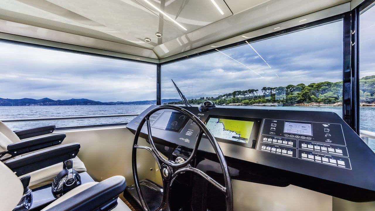 Panta Rei III Motor Yacht Arcadia Sherpa