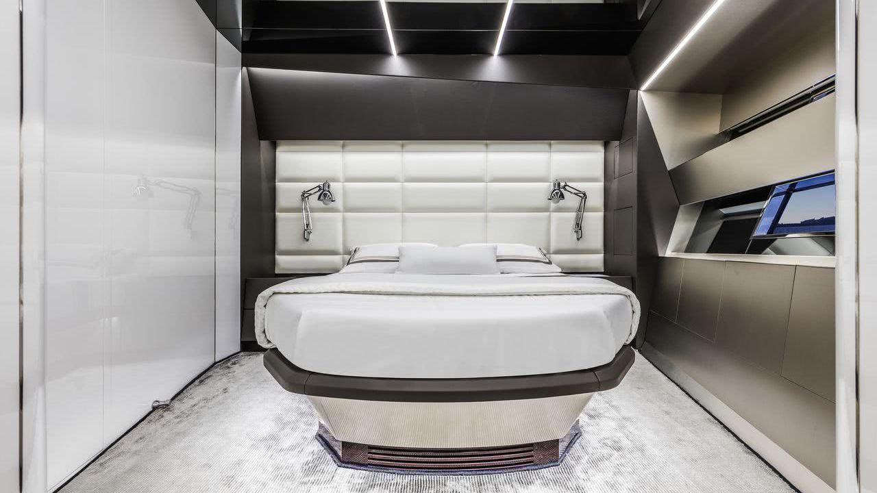 Panta Rei III Motor Yacht Arcadia Sherpa Interior