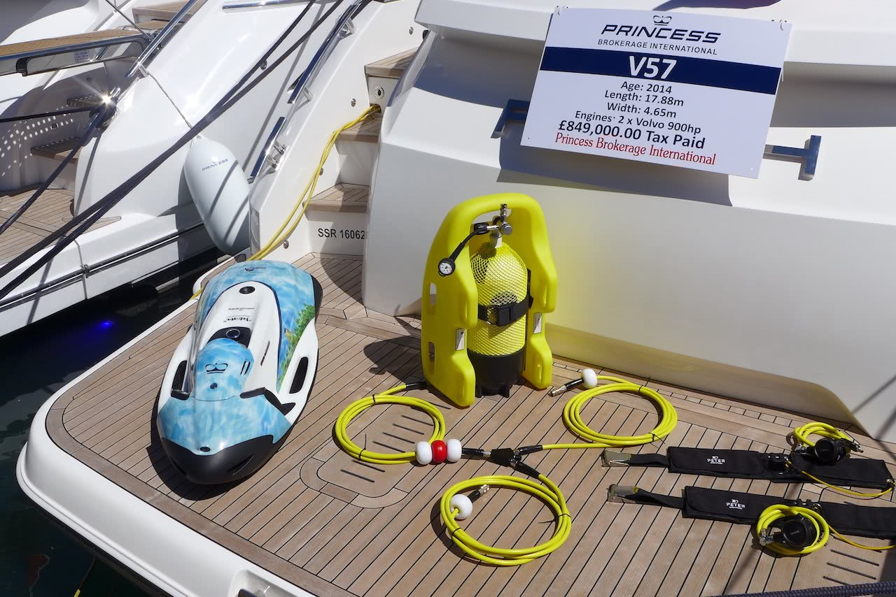 Peter Diving System Princess Yacht Seabob