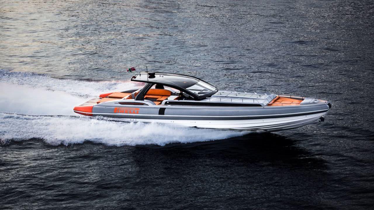 Tecnorib Pirelli 1900 Motor Boat RIB