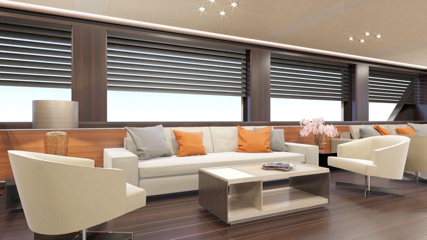 Rosetti Superyachts 85m Motor Yacht Interior Design