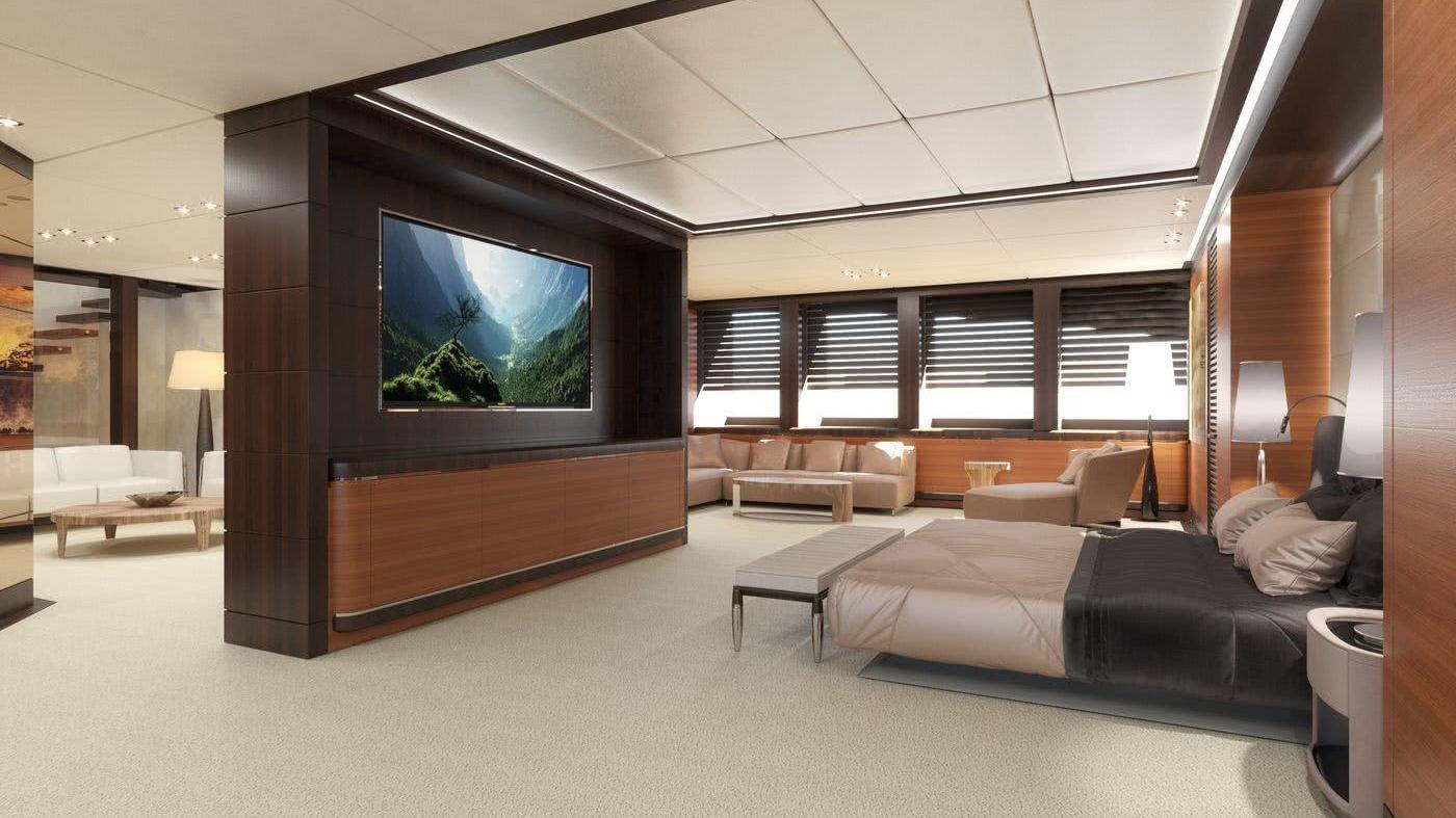Rosetti Superyachts 85m Motor Yacht InteriorDesign