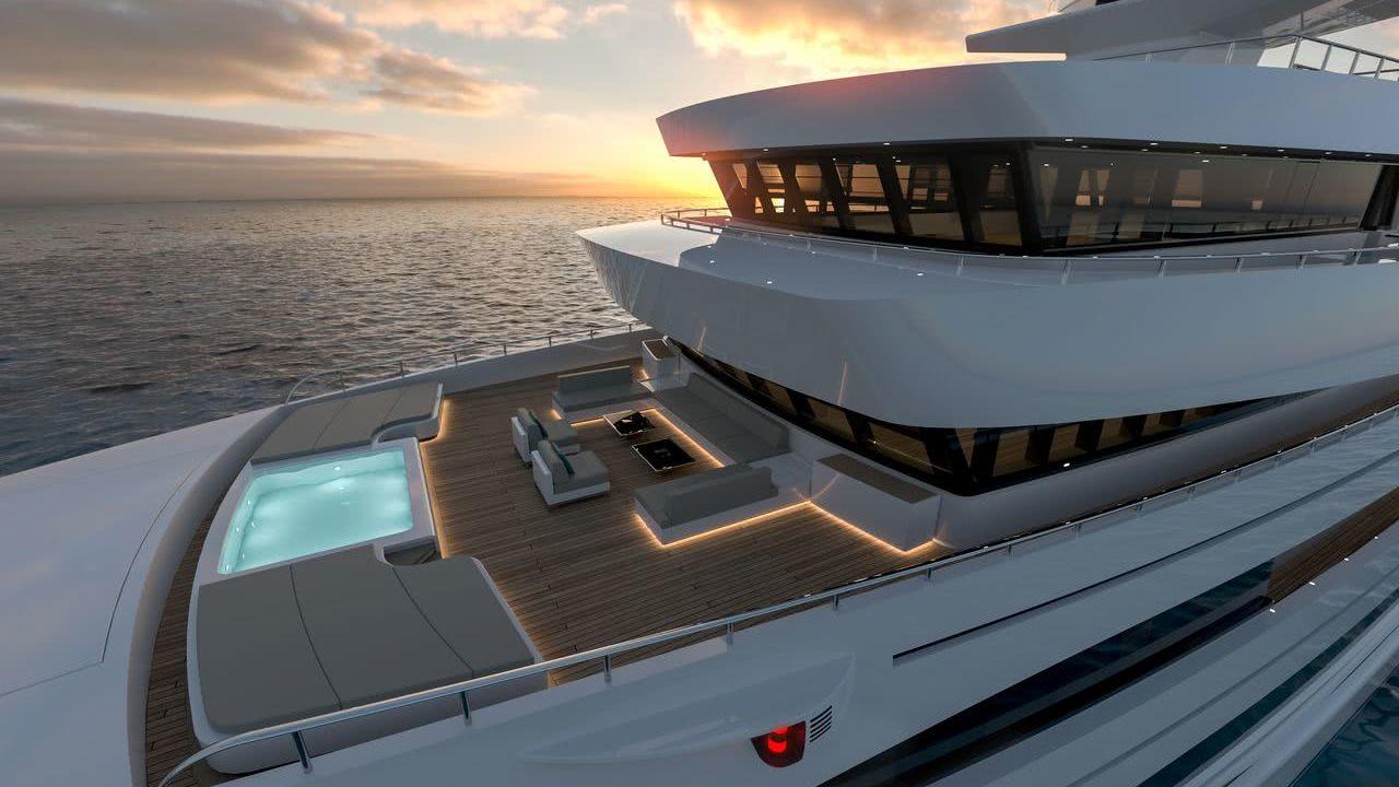 Rosetti Superyachts 85m Motor Yacht Design