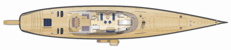 Sailing Yacht NGONI General Arrangement