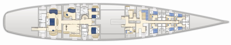 ngoni sailing yacht general arrangement