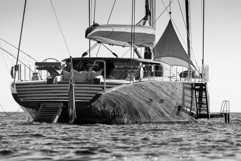 Sailing Yacht Ngoni Royal Huisman Paul Morgan