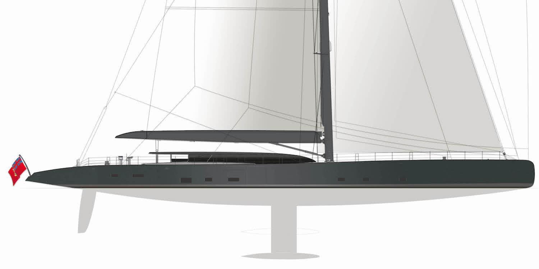 Sailing Yacht Ngoni Royal Huisman Profile