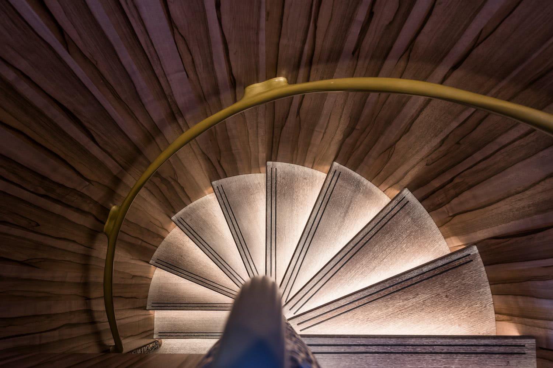 Staircase Sailing Yacht Ngoni Royal Huisman
