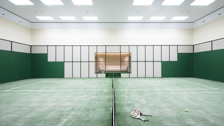 AVIVA Superyacht with Padel Tennis Court