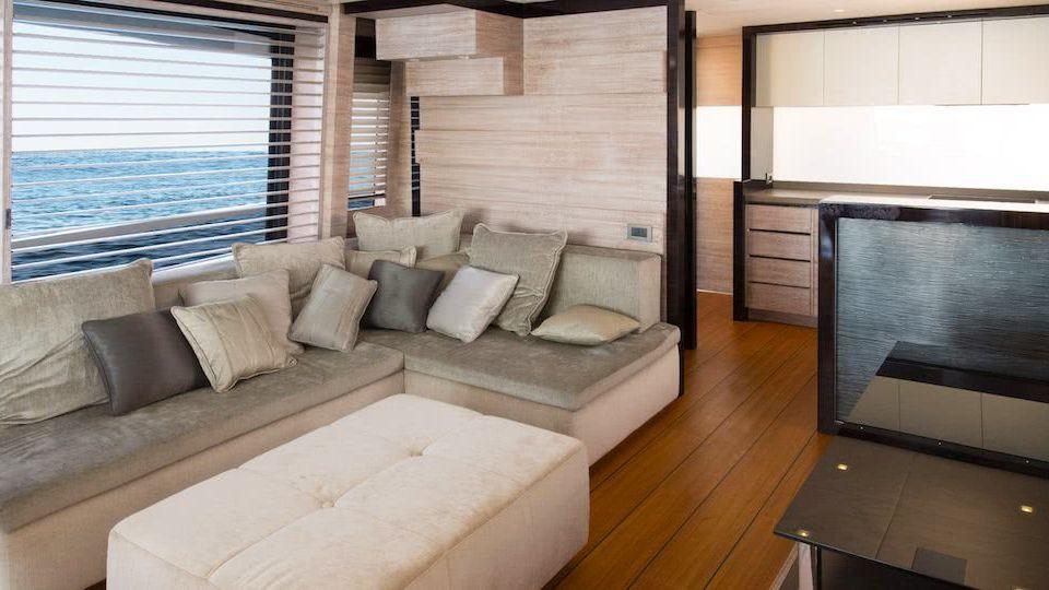Adler Suprema Hybrid Motor Yacht Interior