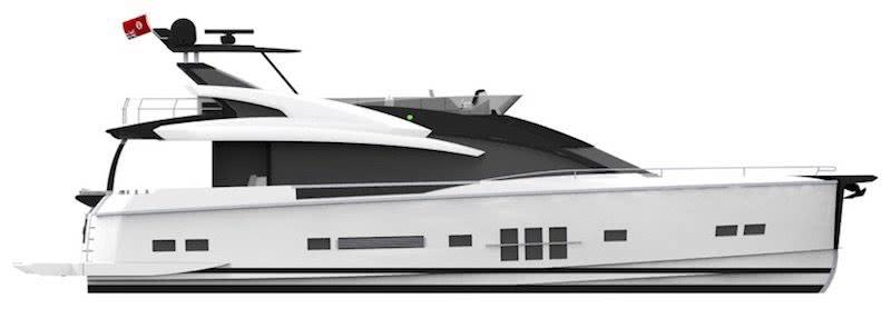 Adler Suprema Hybrid Motor Yacht
