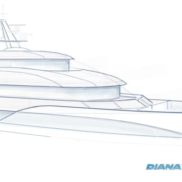 Bluebird Diana Yacht Design