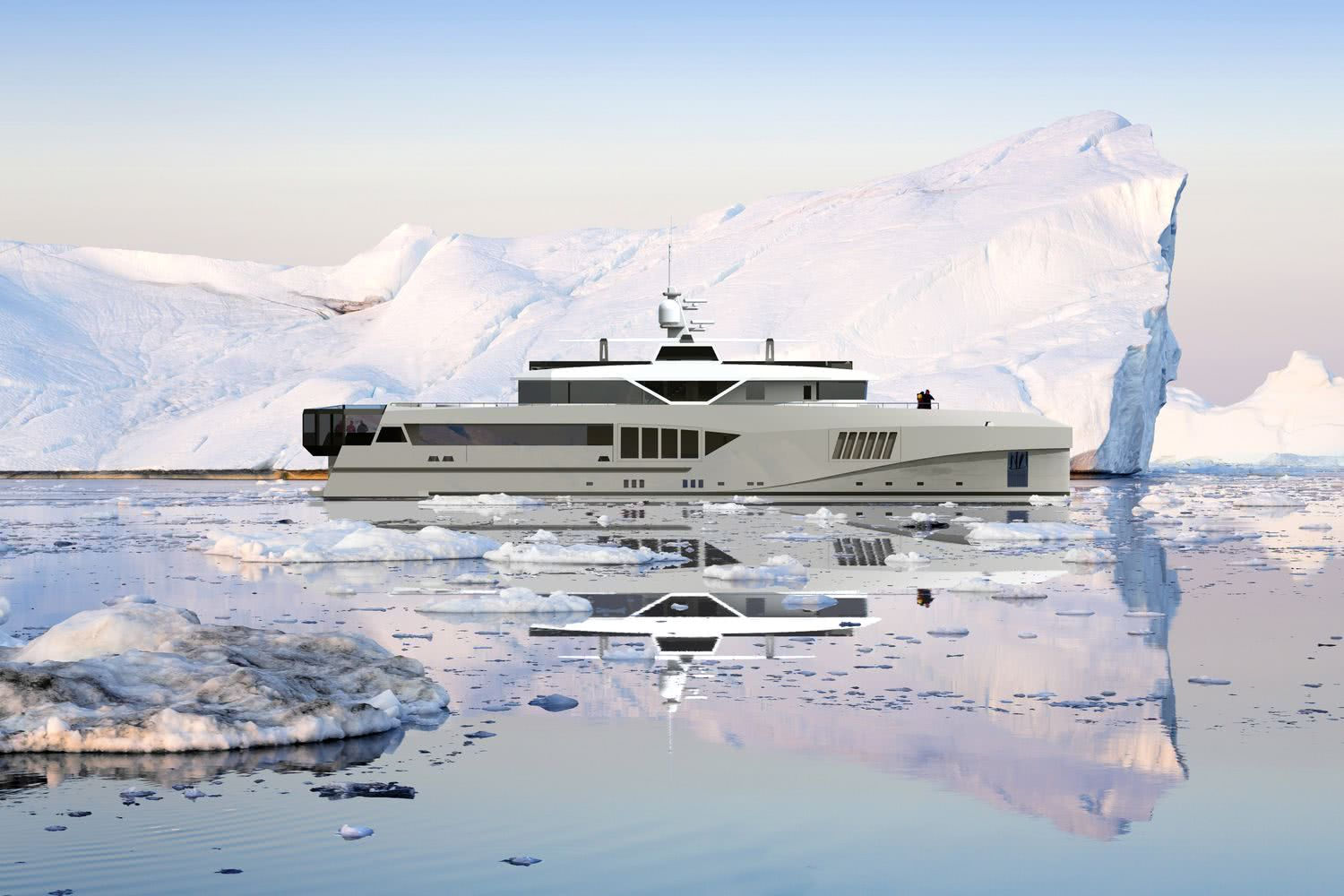 Cape Hawk 690 by Hawk Yachts   Expedition Yacht