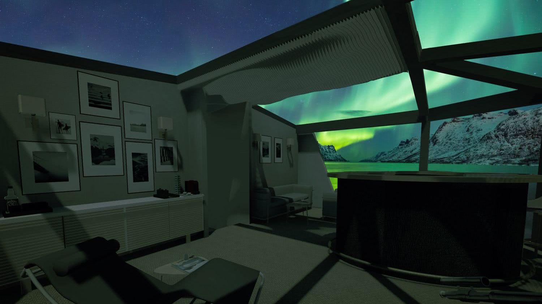 Cape Hawk 690 Motor Yacht Interior