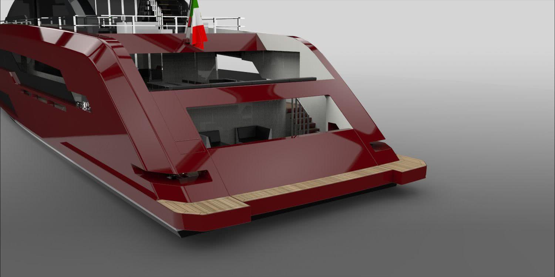 Red Lion Motor Yacht Yankee Delta Studio