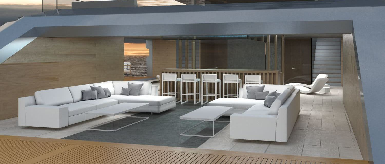 Motor Yacht Sunset Alejandro Crespo Yacht Design Interior