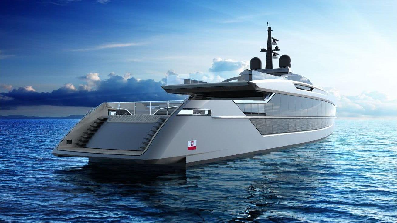 SAETTA Tankoa S533 Motor Yacht Design