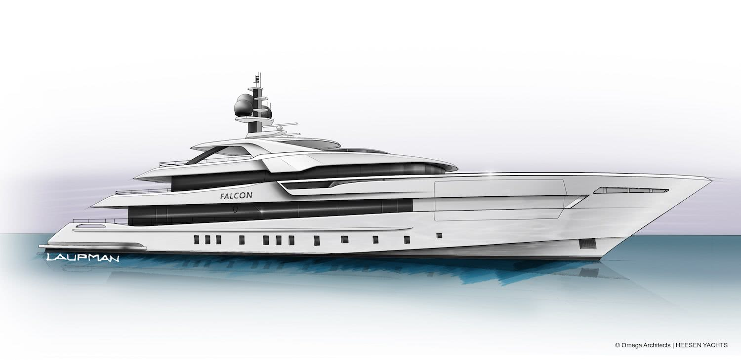 Heesen Yachts Project Falcon