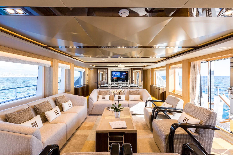 Majesty 110 Motor Yacht Interior