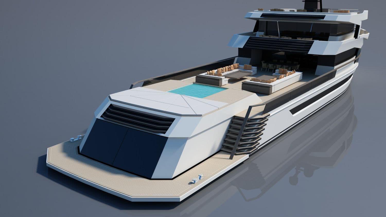 Naucrates 130 Motor Yacht Design Green Yachts